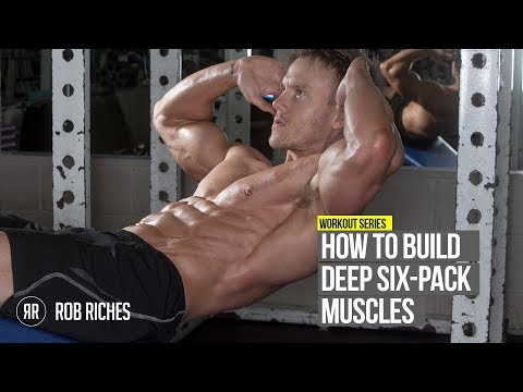 How to get Insane Ripped Six Pack Abs (@RobRiches)