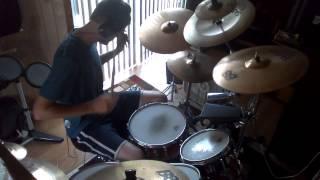 getlinkyoutube.com-Pearl Jam - Spin the Black Circle - Drum cover