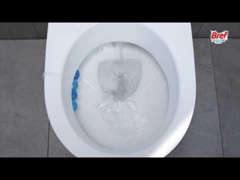 Bref Brilliant Gel Spring Rain Toilet Rim Block Cleaner 42g