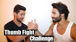 getlinkyoutube.com-Vivaan and Sooraj take up the Thumb Fight Challenge