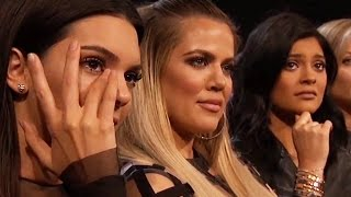 getlinkyoutube.com-Kylie Jenner & Kendall Jenner Cry Over Caitlyn Jenner's ESPYS Speech