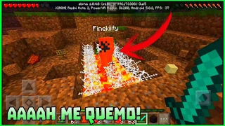 getlinkyoutube.com-Trolleando a mi Hermanita en Minecraft PE #2