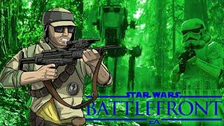 getlinkyoutube.com-Star Wars Battlefront Launch Funny Moments with Daithi De Nogla - Endor Survival Co-Op Mode