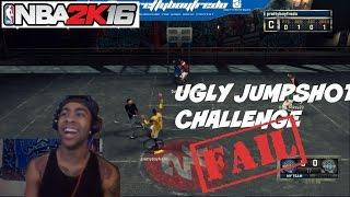 "getlinkyoutube.com-NBA 2K16| UGLY JumpShot Challenege! ""OH HELLL NAWWWW"" - Prettyboyfredo"