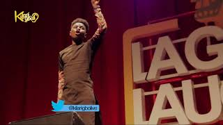 Kenny blaq Comedy On Shaku Shaku | Ushbebe | At Lagos Laughs 2.0 width=