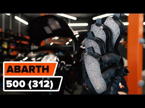 Как заменить передние тормозные колодки на Fiat 500 Abarth (312) [ВИДЕОУРОК AUTODOC]