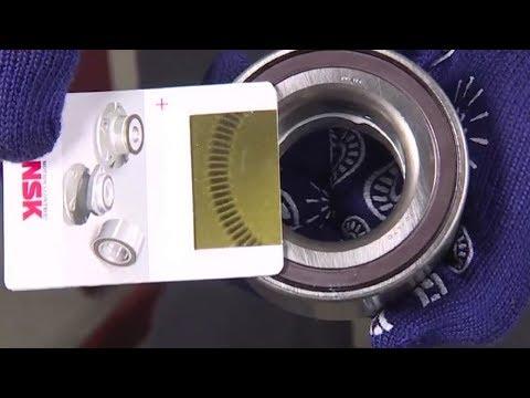 Порядок замены ступичного подшипника с магнитным энкодером на автомобилях с АБС