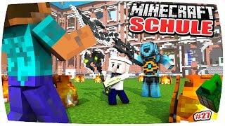 getlinkyoutube.com-MINECRAFT SCHULE: MEIN LEHRER STIRBT?! DER FINALE ENDKAMPF GEGEN DRILON ⚔😱◾️(Minecraft Roleplay)•#27