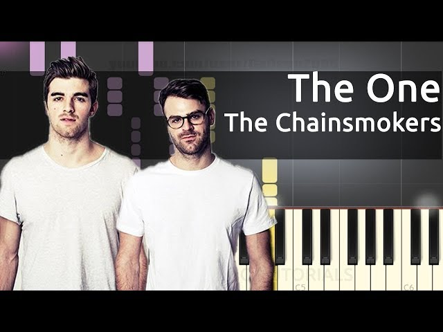 THE ONE - THE CHAINSMOKERS karaoke version ( no vocal ) lyric instrumental