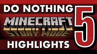 getlinkyoutube.com-What if You Do Nothing? - Minecraft: Story Mode (Episode 5) SPOILERS!