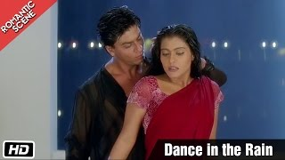 Dance in the Rain - Romantic Scene - Kuch Kuch Hota Hai - Shahrukh Khan, Kajol width=