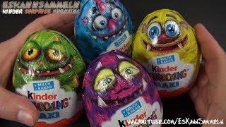 getlinkyoutube.com-Kinder Überraschung - MAXI EI - Monsters University (Disney Pixar) (Monsters, Inc) (Kinder Surprise)