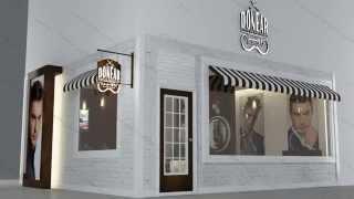 getlinkyoutube.com-تصميم ديكور محل صالون حلاقة - Barber Shop Design