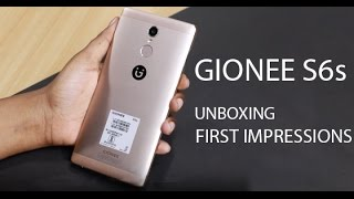 Gionee S6s : Unboxing