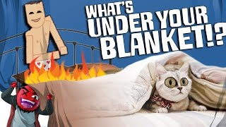 "getlinkyoutube.com-What's Under Your Blanket!? | ""My D*ck's on FIRE!"" (Perverted Cat)"