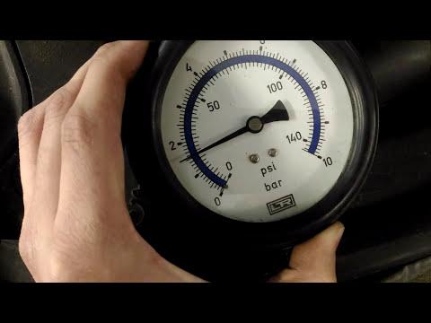 Где в Porsche Кайен находится топливный насос