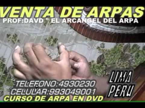 CLASES DE ARPA Y CANTO parte 20 CLASES EN DVD,VENTA DE ARPAS Y VESTUARIOS .CEL:993049001 LIMA PERU
