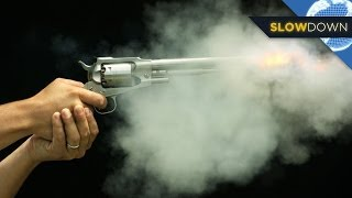 getlinkyoutube.com-Slow Motion Bullets: How Do Guns Work?