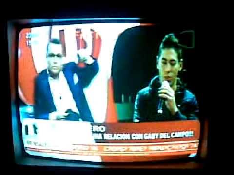 el modelo Christian Nielzen el huevero enojado contra Gaby Del Campo la trata de loca- teleshow