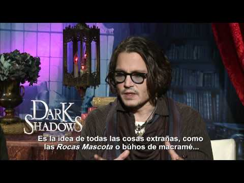 &quot;Sombras Tenebrosas&quot;. Entrevista Johnny Depp. (Subtitulada)