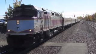 getlinkyoutube.com-Railfanning the MBTA Commuter Rail - Fall 2015