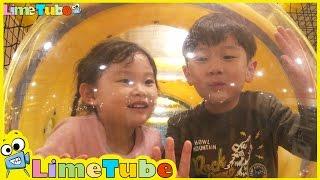 getlinkyoutube.com-라임이의 놀이방 가다! ❤ 겨울왕국 뽀로로 장난감 놀이 LimeTube & Toys Play 라임튜브
