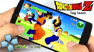 getlinkyoutube.com-Dragon Ball Z Tenkaichi Tag Team PPSSPP v1.0 Android + Configuraciones 2015