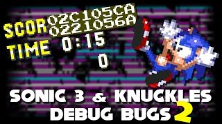Sonic 3 & Knuckles Debug Bugs 2