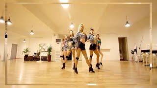 "getlinkyoutube.com-4MINUTE - ""Crazy"" Dance Cover by Black Queen"