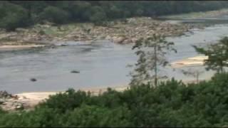 Rivière OgOOuè & paysages gabonais vus du train, LOpé