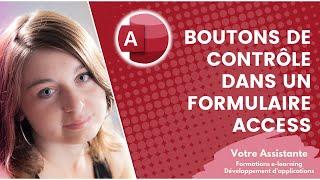 getlinkyoutube.com-Créer des boutons de contrôle dans un formulaire Access