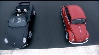 getlinkyoutube.com-Porsche Turbo vs VW Beetle - Top Gear - BBC