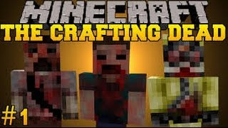 getlinkyoutube.com-Minecraft PE - The Crafting Dead #1 NOVA SÉRIE