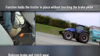 New Holland #T7HeavyDuty in action - Active Stopstart
