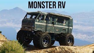 getlinkyoutube.com-EPIC MONSTER RV OFF-ROADING 4X4! (GTA V PC Mods)