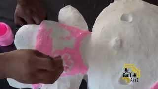 Piñata Hello Kitty Decartón