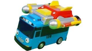 getlinkyoutube.com-우주로켓 타요 장난감 Tayo the little bus Space Rocket Toys