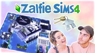 Buying A CRAZY New House | Zalfie Sims Edition [20]
