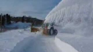 getlinkyoutube.com-Fendt 930 + Beaulieu 10 feet snow blower