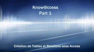 getlinkyoutube.com-[Tuto] Access 2016 Partie 1: Tables et Relations.