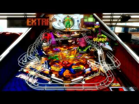 Pinball FX 2 - Marvel Pinball: Spiderman Table