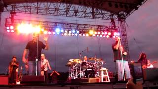 """getlinkyoutube.com-Huey Lewis & the News with King Harvest """"Dancing in the Moonlight"""" @ Artpark, Lewiston, NY 7/3/12"""