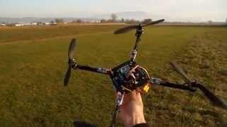 Manobras 3D drone quadricopteros mwc quad motor multiwii