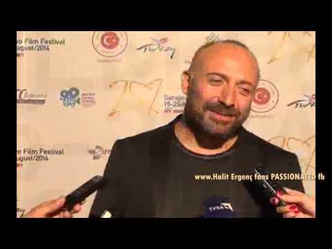 Halit Ergenc ...Interview in Sarajevo - 20th film festival 19/8/2014