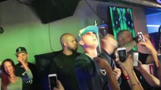 Cosculluela ft Nicky jam Te busco, en Vivo 2016