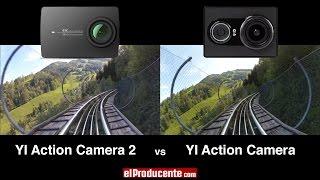 getlinkyoutube.com-YI 4K Action Camera 2 vs YI 1 (1080p 60fps / Image Stabilizer)