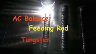 How to TIG Weld Aluminum part2  AC Balance
