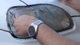 getlinkyoutube.com-طريقة تنظيف وتلميع اضواء السيارة باستخدام معجون الاسنان