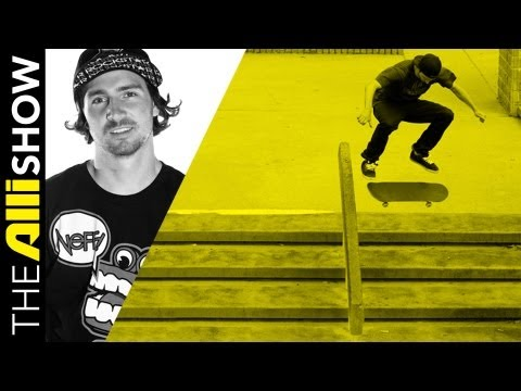 Alli Show - Greg Lutzka Works on Filming a Skateboarding Video Part