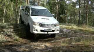 "getlinkyoutube.com-Arctic Trucks Finland: Toyota Hilux 2012 ""AT33"""